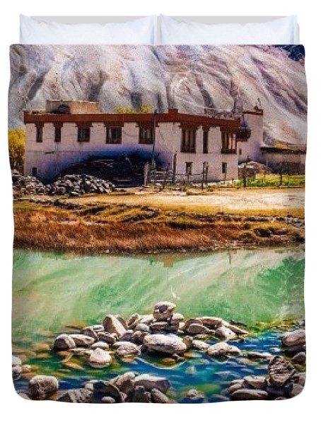 Zanskari House Duvet Cover