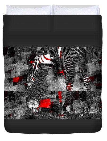 Zebra Art - 56a Duvet Cover