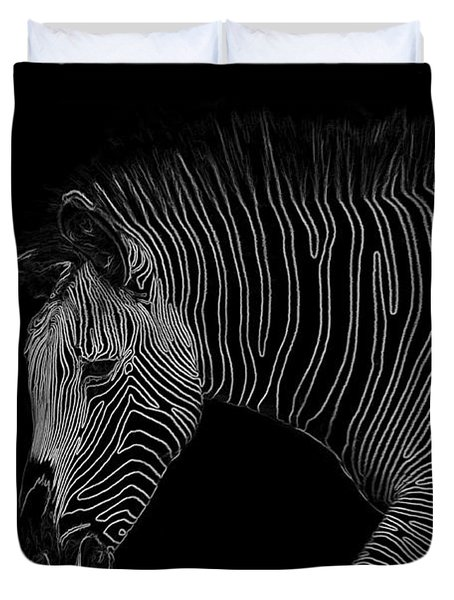 Zebra Art Duvet Cover