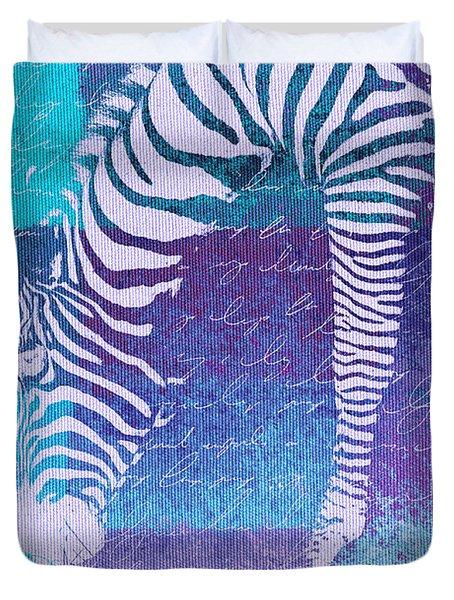 Zebra Art - Bp02t01 Duvet Cover