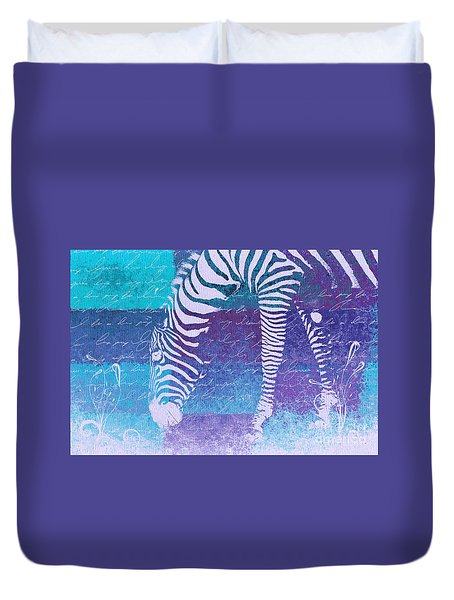 Zebra Art - Bp02t01 Duvet Cover