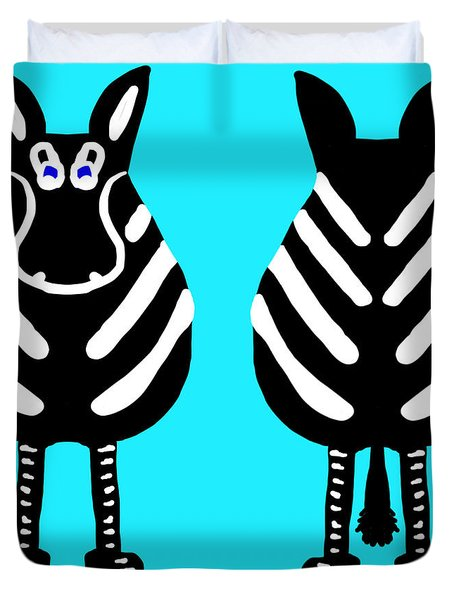 Zebra - Both Ends Duvet Cover