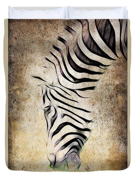 Zebra Fade Duvet Cover