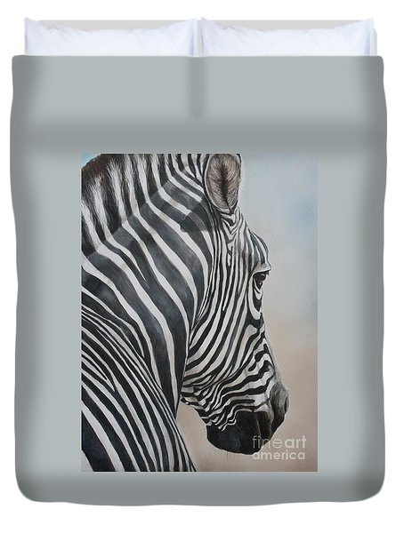 Zebra Look Duvet Cover