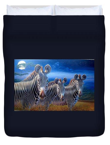 Zebras Duvet Cover by Hans Droog