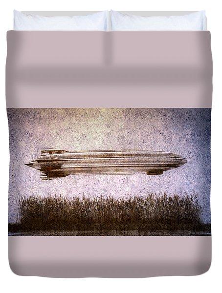 Zeppelin  Duvet Cover by Bob Orsillo