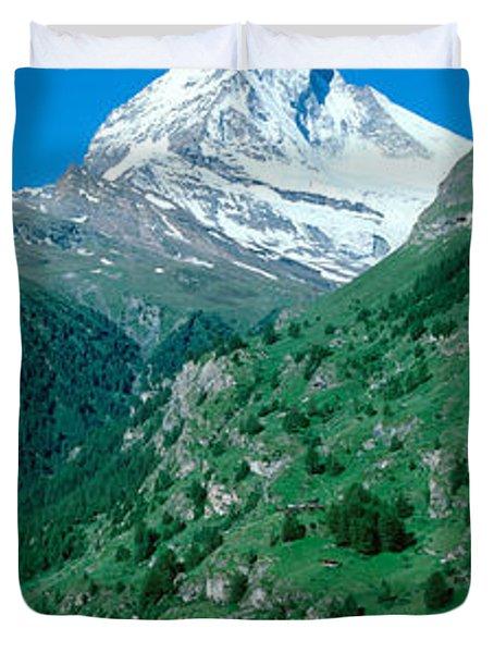 Zermatt, Switzerland Duvet Cover