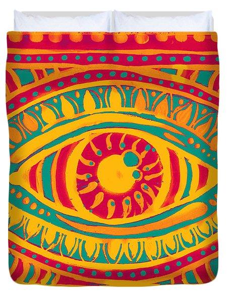 Zesty Gypsi Eye Duvet Cover