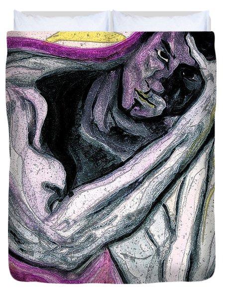 Zeus Duvet Cover by First Star Art