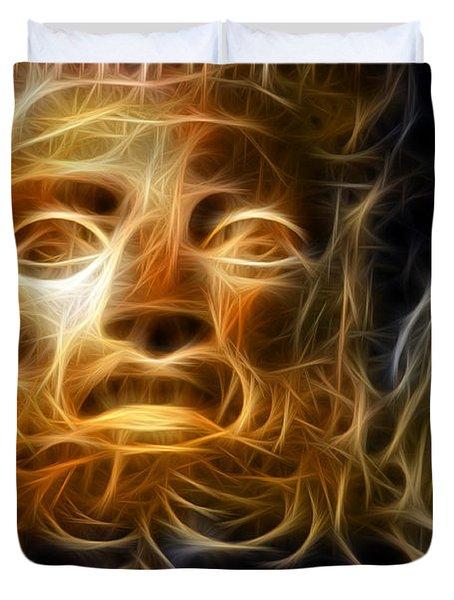 Zeus Duvet Cover by Taylan Apukovska