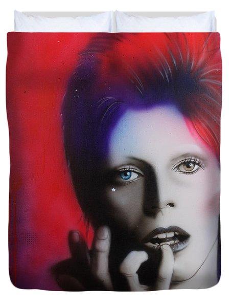 Ziggy Stardust Duvet Cover
