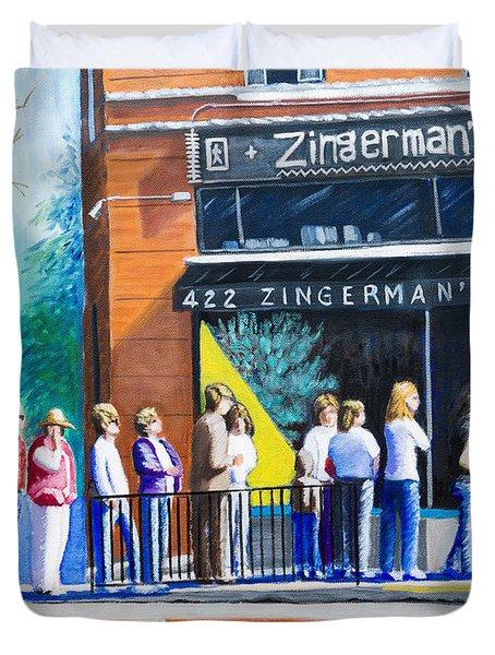 Zingerman's Deli Duvet Cover