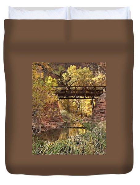 Zion Bridge Duvet Cover