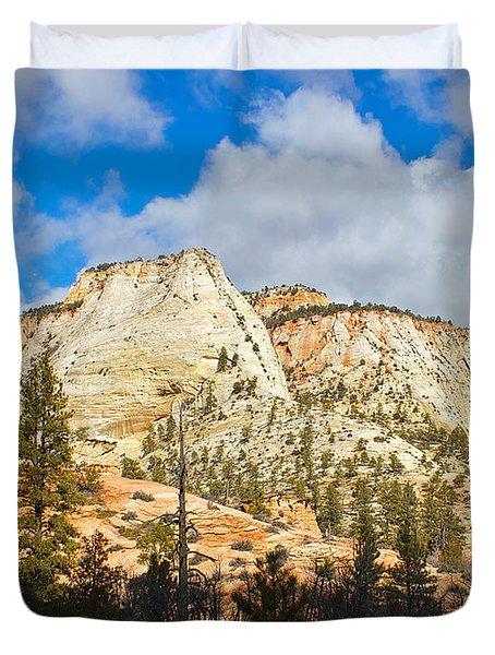Zion National Park Duvet Cover