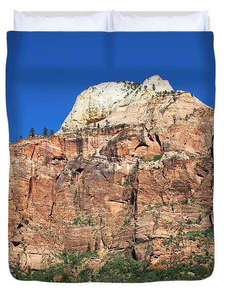 Zion Wall Duvet Cover