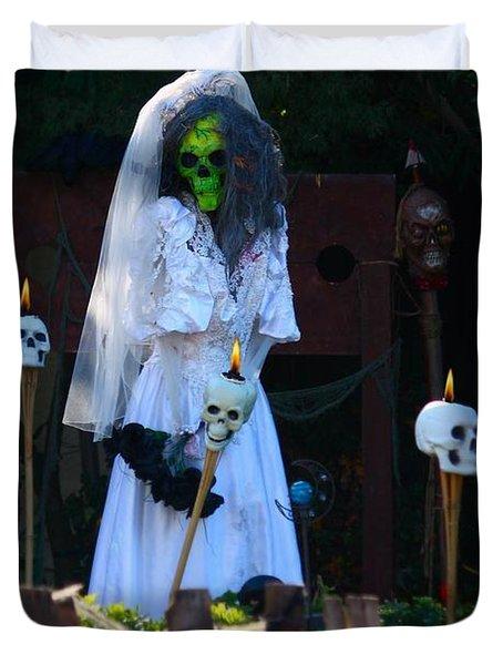 Zombie Bride Duvet Cover by Patrick Witz
