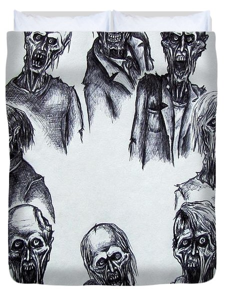 Zombies Duvet Cover