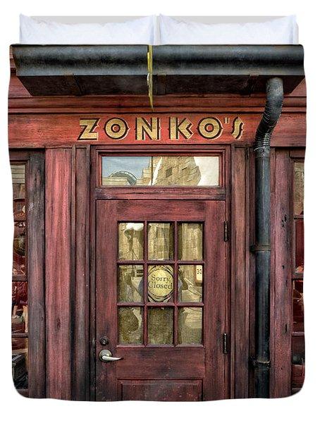 Zonkos Joke Shop Hogsmeade Duvet Cover