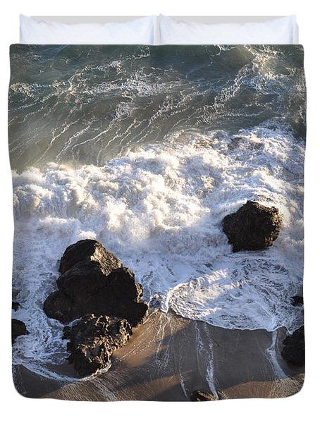 Zuma Beach Duvet Cover