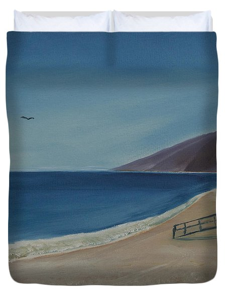 Zuma Lifeguard Tower Duvet Cover