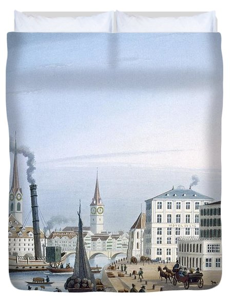 Zurich Duvet Cover by Swiss School