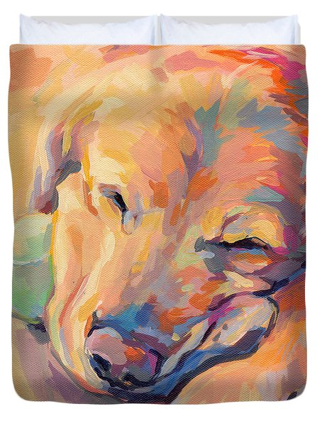 Zzzzzz Duvet Cover by Kimberly Santini