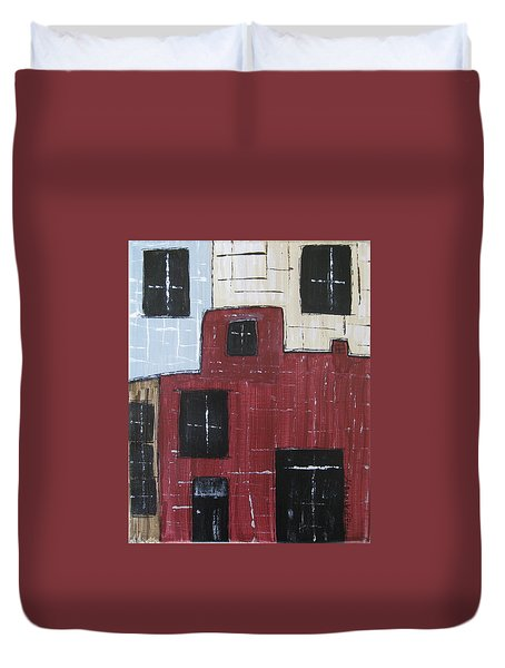 Eureka Springs Arkansas #1 Duvet Cover
