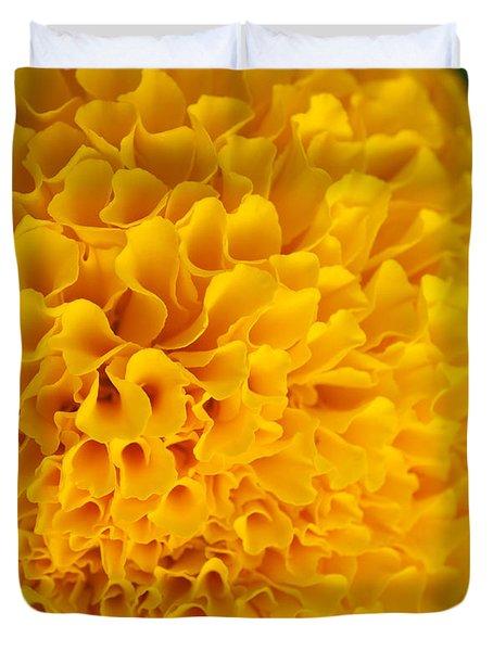 Marigold Macro View Duvet Cover by Atiketta Sangasaeng