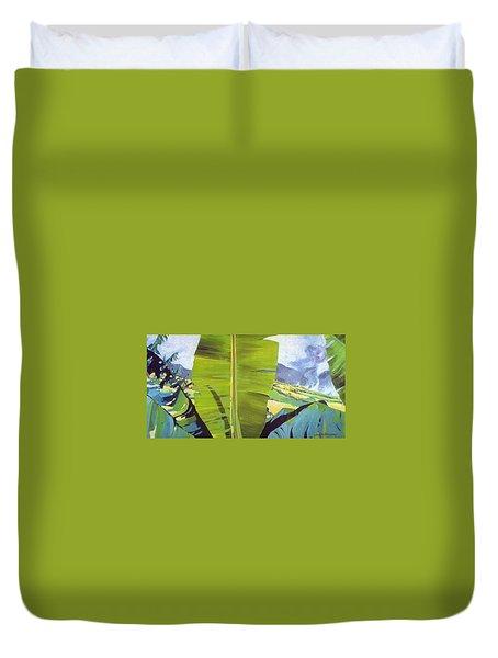 Maui Plantation Duvet Cover
