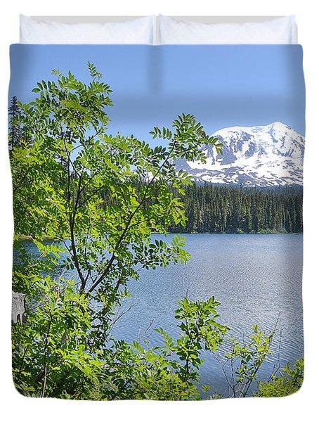Mount Adams Duvet Cover