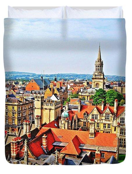 Oxford Cityscape Duvet Cover