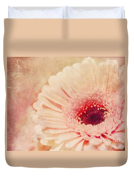 Duvet Cover featuring the photograph  Pinked by Traci Cottingham