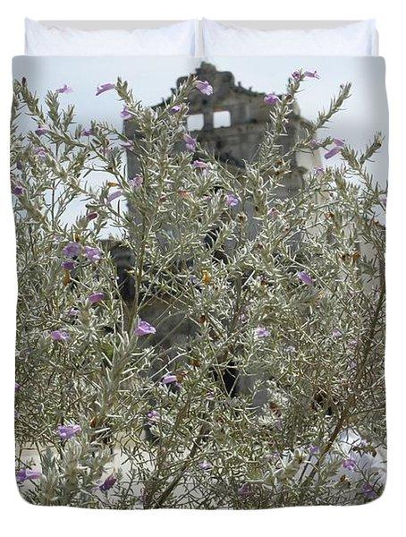 Santa Lucia Alla Badia Church Duvet Cover