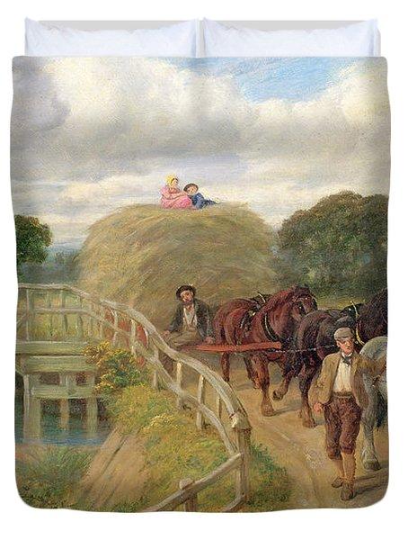 The Last Load  Duvet Cover by Philip Richard Morris