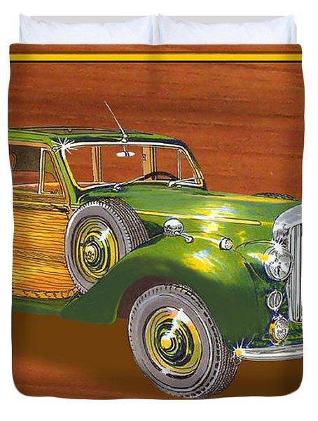 1947 Bentley Shooting Brake Duvet Cover by Jack Pumphrey