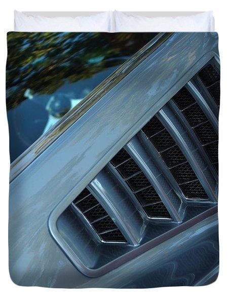 1965 Ford Mustang  Duvet Cover by Peter Piatt