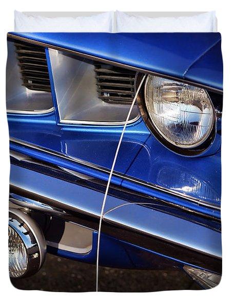 1971 Plymouth Hemicuda Duvet Cover by Gordon Dean II
