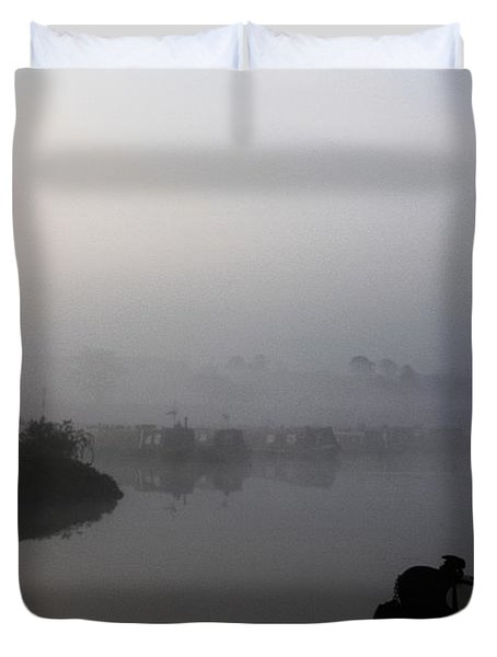 A Nice Place Duvet Cover by Linsey Williams