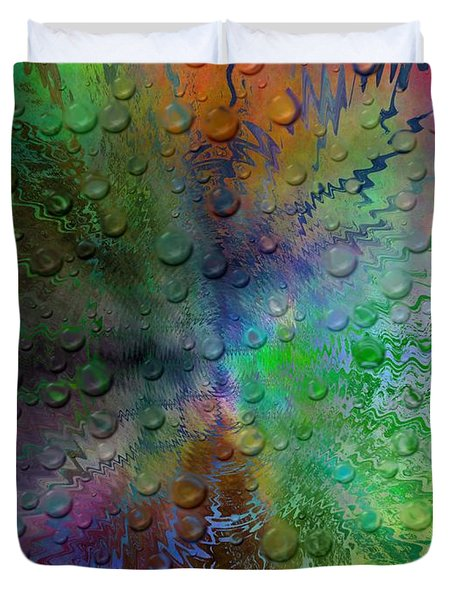 After The Rain 2 Duvet Cover by Tim Allen