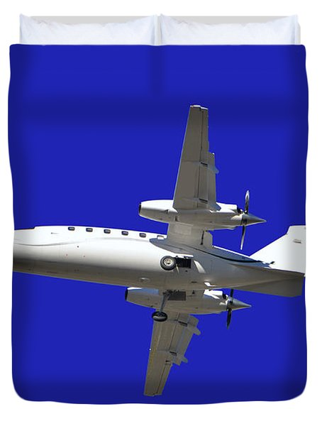 Airplane Duvet Cover by Mats Silvan