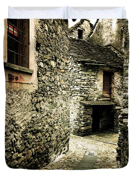 Alley Duvet Cover by Joana Kruse