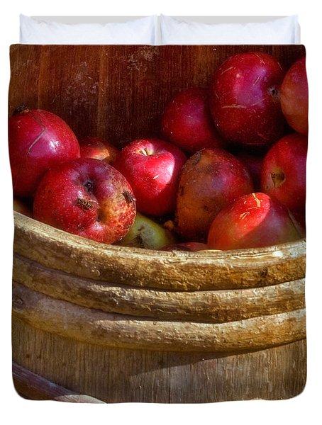 Apple Harvest Duvet Cover by Joann Vitali