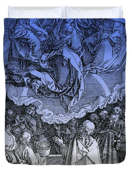 Assumption Of Mary Duvet Cover