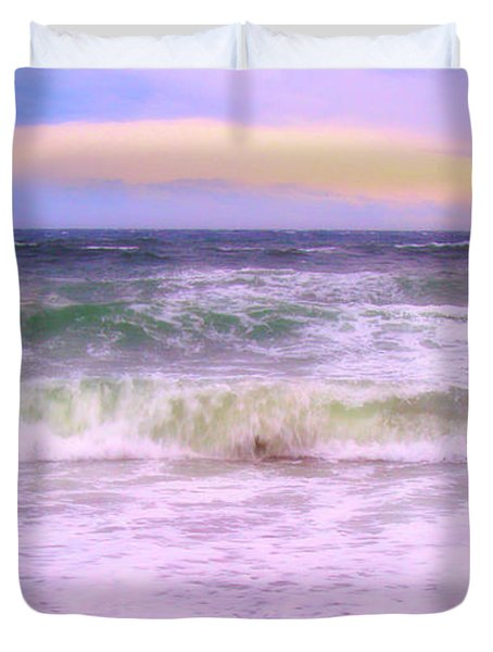 At The Seashore Duvet Cover by Marilyn Wilson