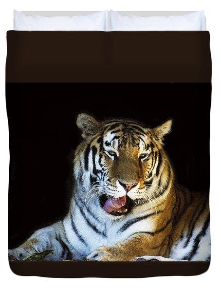 Awaking Tiger Duvet Cover