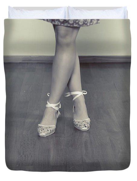 Ballerinas Duvet Cover by Joana Kruse
