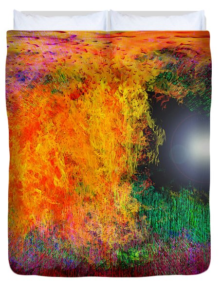Baptism Duvet Cover by Christopher Gaston