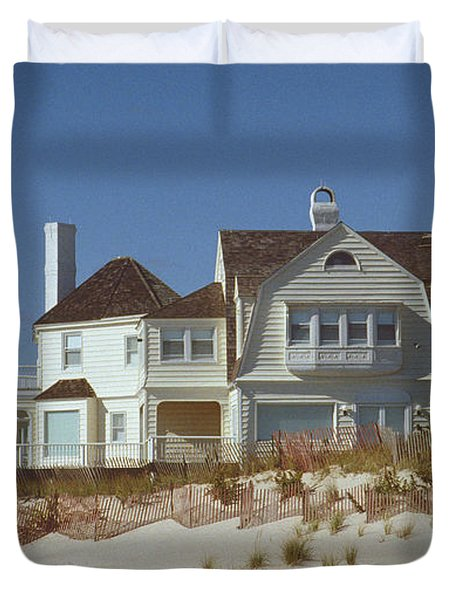Beach House Duvet Cover by Mark Greenberg