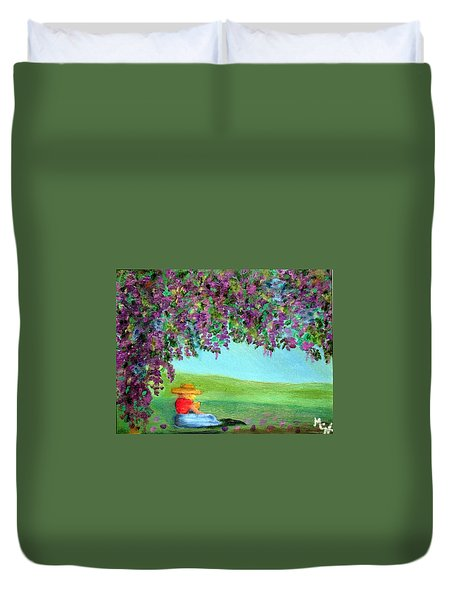 Beyond The Arbor Duvet Cover