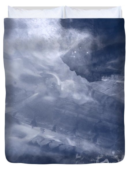 Birth Of A Dream Duvet Cover by Christopher Gaston
